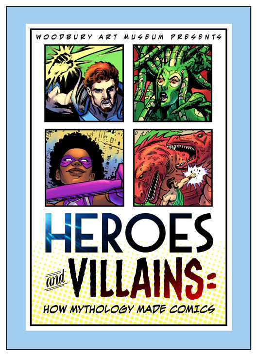 Woodbury Art Museum in Orem presents Heroes and Villains in their latest exhibition.