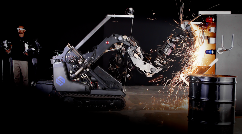 The Utah-based robotics company Sarcos is working to develop technologies to augment, instead of replacing humans working in the industrial, public safety and military sectors.