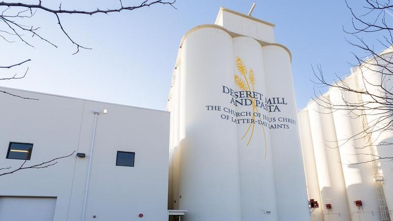 The Deseret Mill and Pasta Plant in Kaysville.