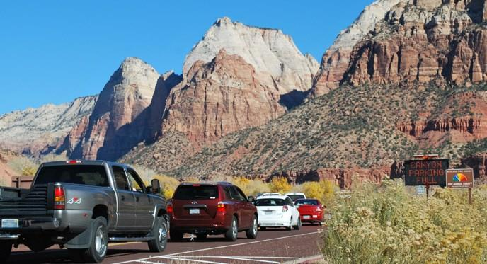 Zion National Park is now the third most visited National Park in the United States, bringing in 4.5 million visitors a year – an increase of 60 percent of visitation over the past three years.