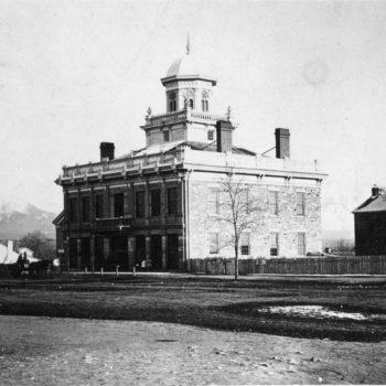 Historic council hall is where the first woman in the modern nation voted.