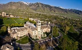 Utah State University campus.