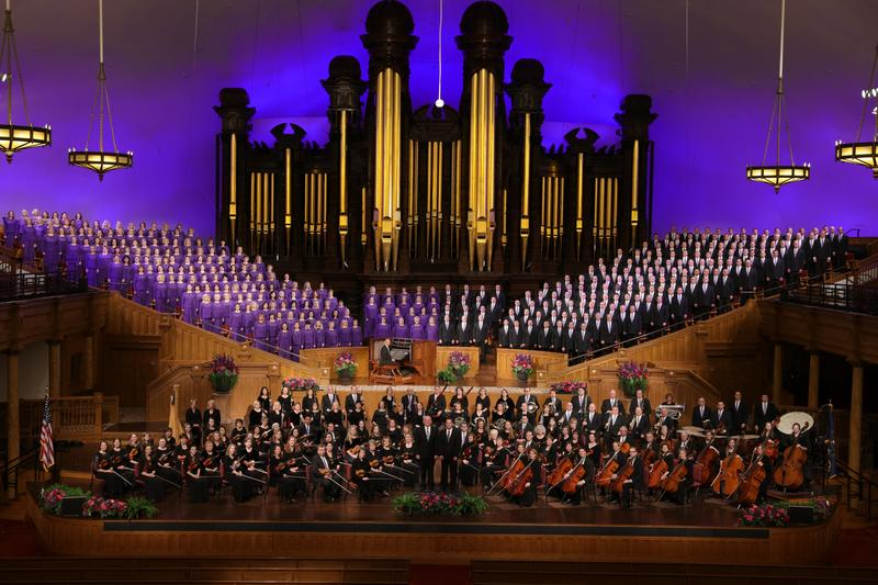 Mormon Tabernacle Choir: The choir will perform at Utah State University for the first time in 10 years.