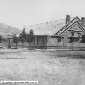 The Assembly Hall in Salt Lake City sits on the site of the old taberacle. Both of sites of important suffragist events.