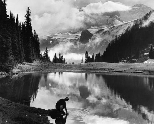 Klapatche Park, Mount Rainier National Park. Photo credit: Bob & Ira Spring. Source: National Archives & Records Administration.