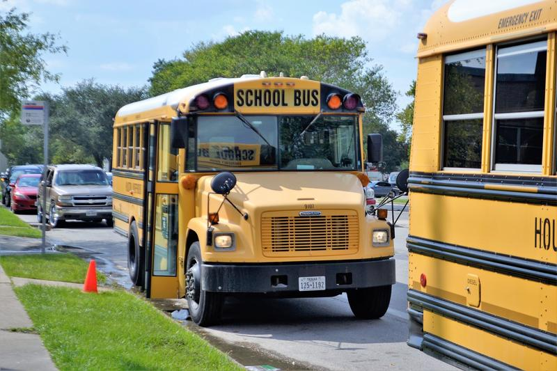 Yellow school bus: School buses can bring harm to school children and Cache Valley School District is doing what it can to address the issue.