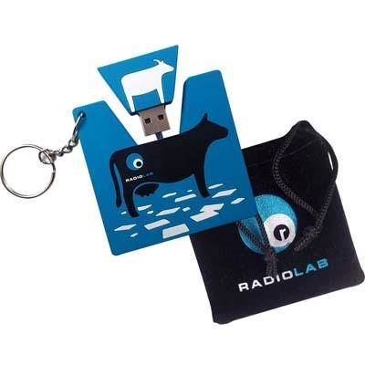 Pledge $150 and get the RadioLab flash drive, featuring the first 5 seasons of Radiolab episodes, a full 25 hours of surprising information and immersive storytelling in a single 2 GB re-usable drive.