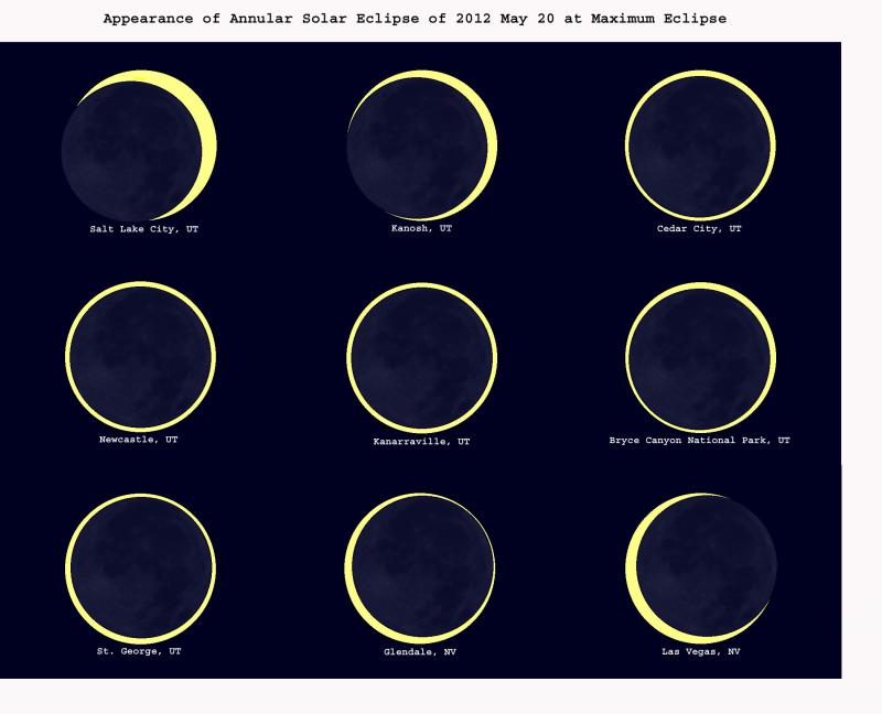Appearance of Annular Solar Eclipse of 2012 May 20 at Maximum Eclipse from Patrick Wiggins