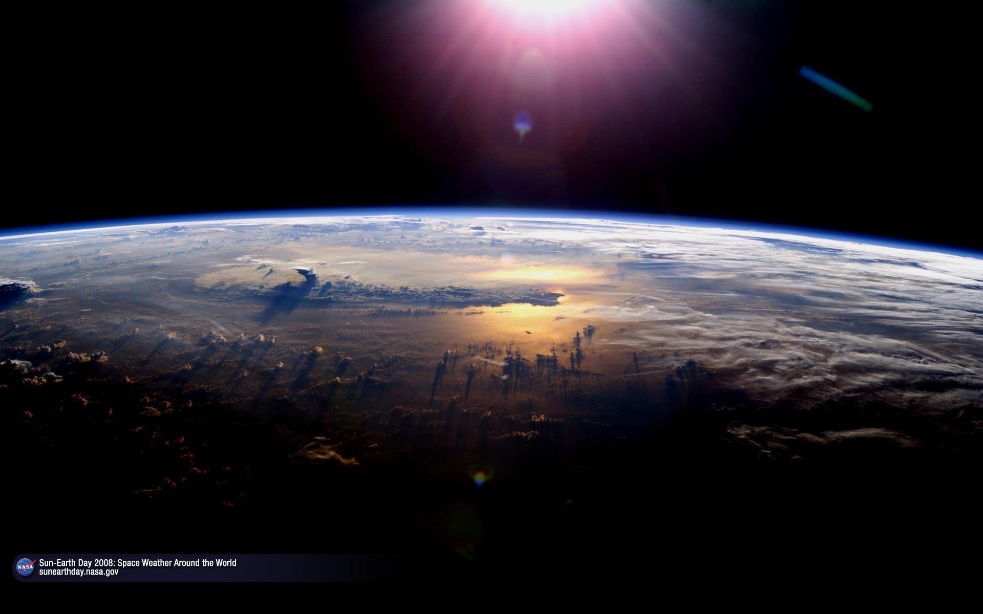 earth and sun - Astronomy Jobs At Nasa