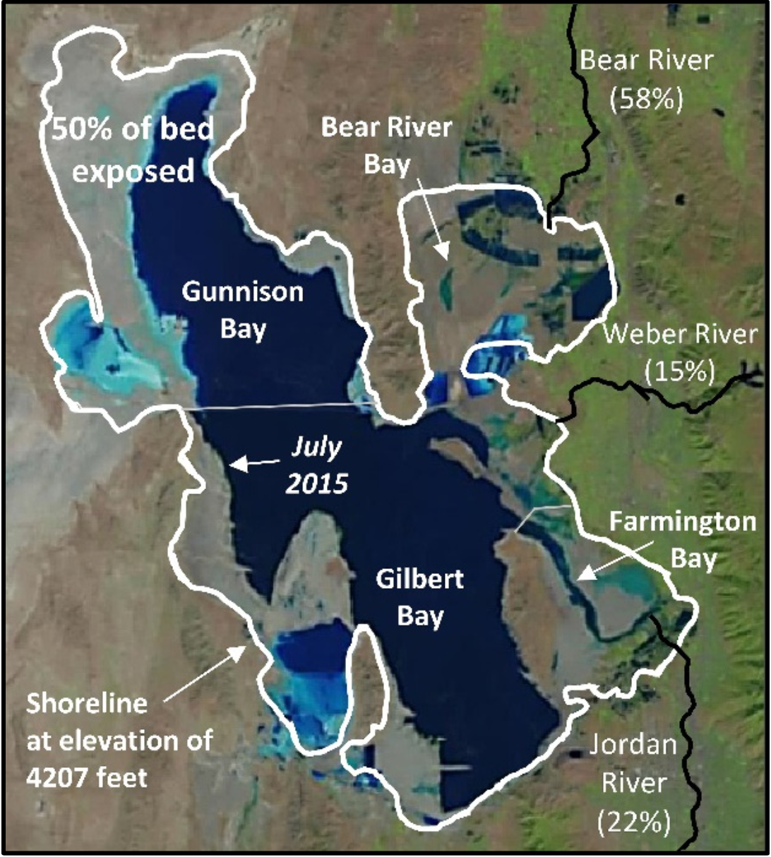 The Great Salt Lake Better Off Without Us UPR Utah Public Radio - Great salt lake on a us map