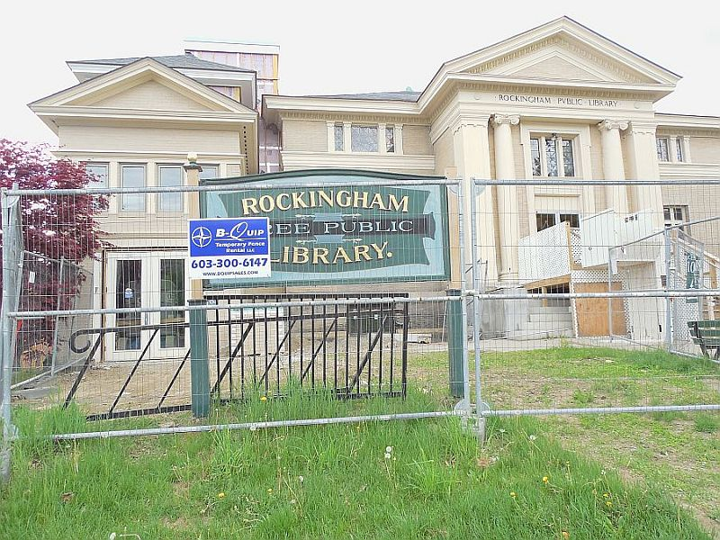 Rockingham Faces Controversy Over Library Renovation