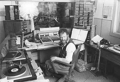 Joshua Landis at Windsor studio in 1977