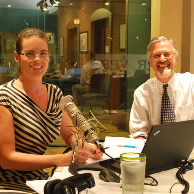 Vermont Edition hosts Jane Lindholm and Bob Kinzel