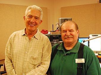 Arnold Steinhardt with Walter Parker in the VPR Colchester studio