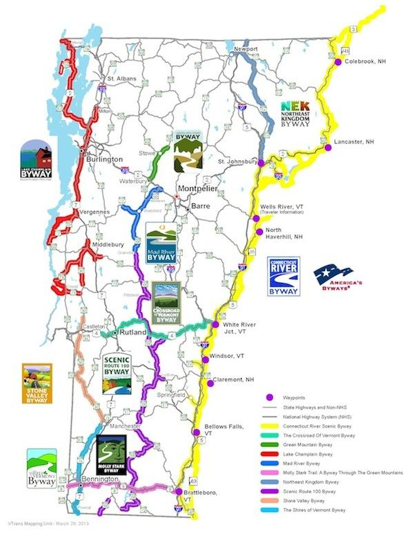 What Is A Scenic Byway And Why Does It Matter?   Vermont Public Radio