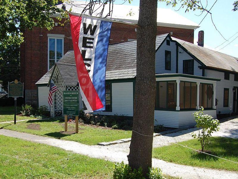 Brandon Museum at the Stephen A Douglas Birthplace