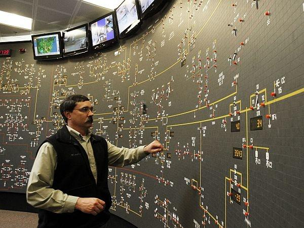 The control room at Green Mountain Power. The state Public Utility Commission has made public a letter alleging a cozy relationship between the agency that advocates for ratepayers and GMP.