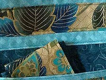 Detail of a Kathleen Kennedy tote