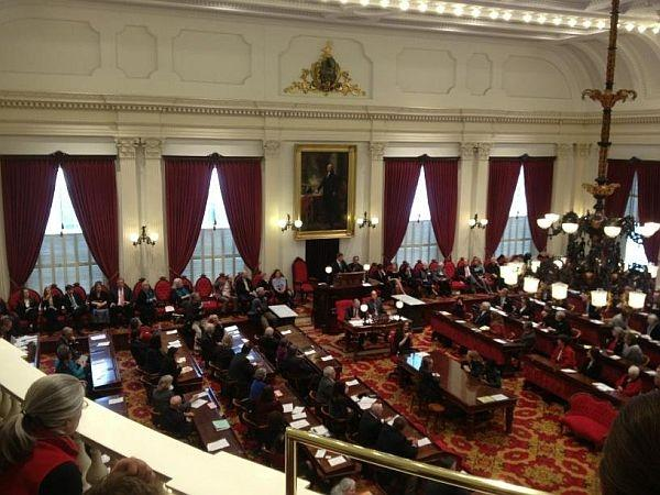 The Vermont Legislature on January 9, the first day of the 2013 session.