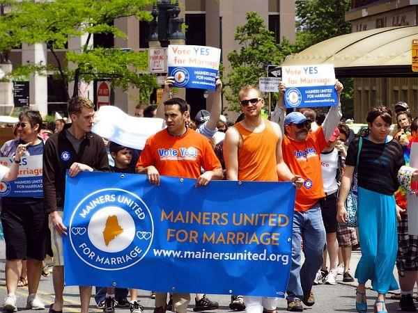 Maine is one of the states that has voted to approve same-sex marriage.