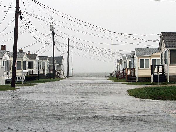 Hurricane Sandy has caused flooding in many coastal towns. Here, Hampton, New Hampshire feels Sandy's wrath long before the