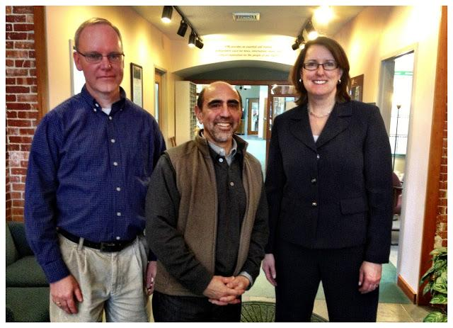 VPR's Ross Sneyd, NPR's Richard Gonzales, and VPR's Robin Turnau
