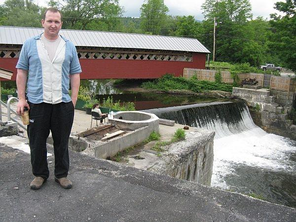 Bill Scully and his company Carbon Zero purchased the old Vermont Tissue Mill in North Bennington in 2008. They've won approval to generate electricity.