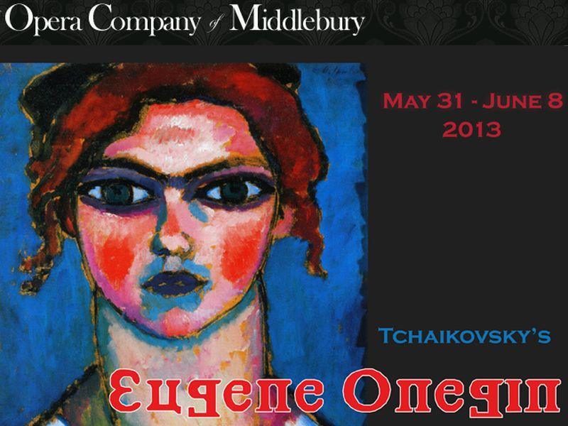 OCM poster includes 'Young Girl with Green Eyes' by Alexej von Jawlensky.