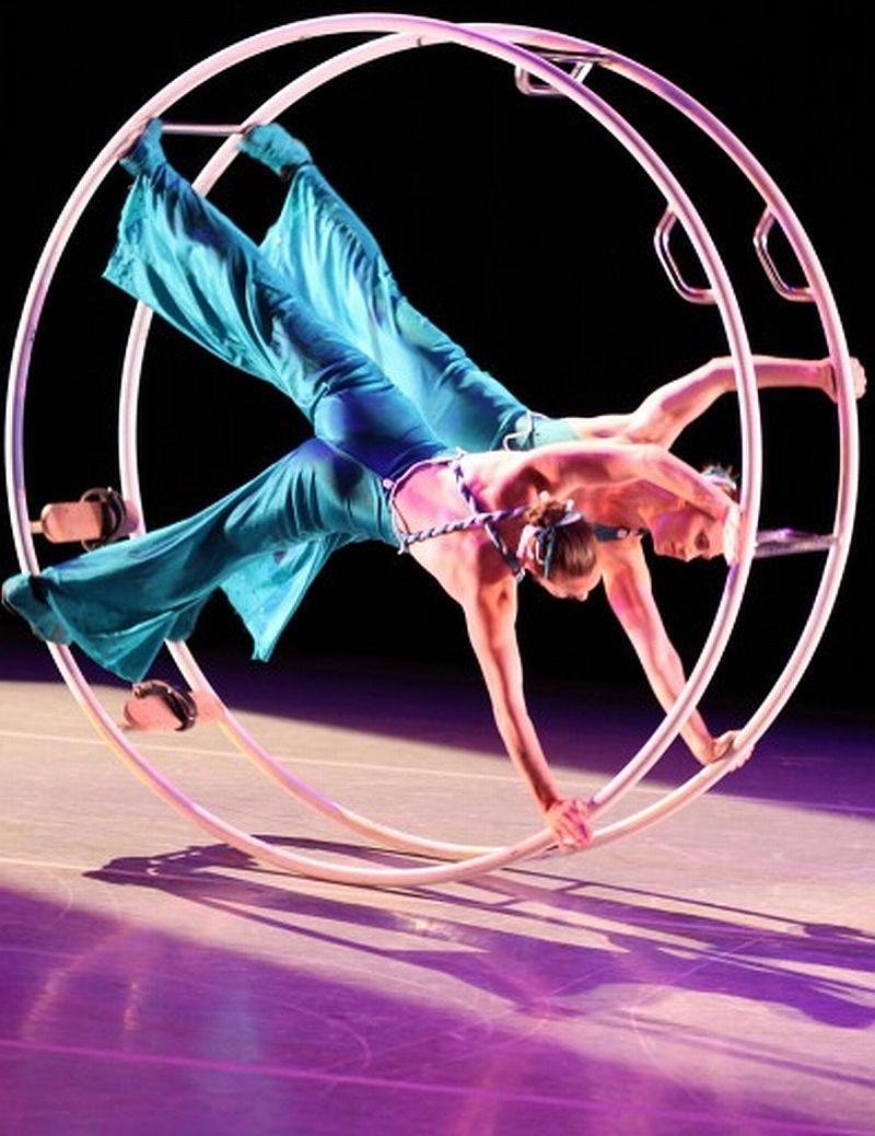 New England Center for Circus Arts performers