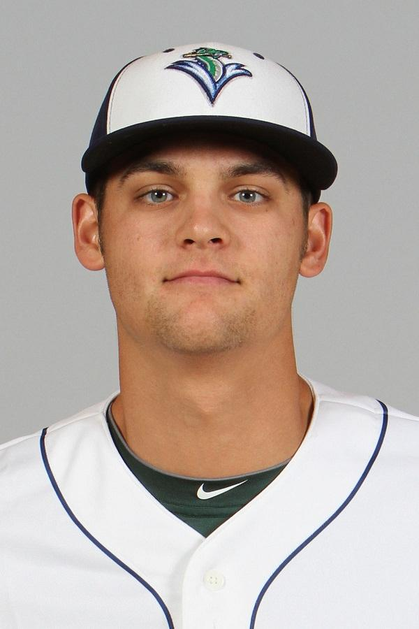 Chad Pinder, a third-basemen recently drafted into the Oakland organization. Pinder comes from Virginia Tech,