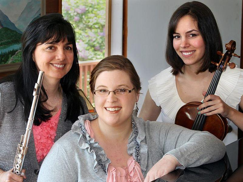 Laurel Ann Maurer, Claire Black and Tatiana Trono