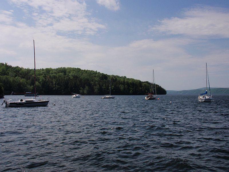 Lake Memphremagog, near Georgeville, Quebec