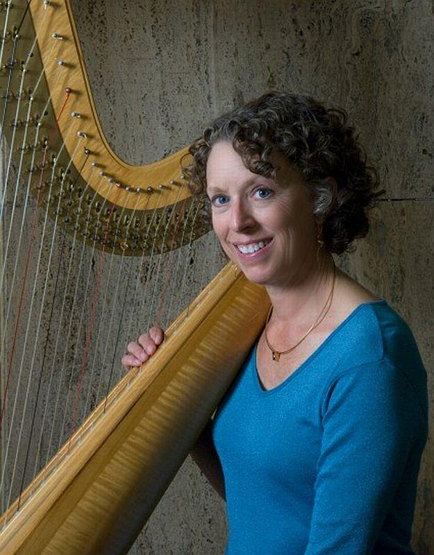 Harpist Rebecca Kauffman