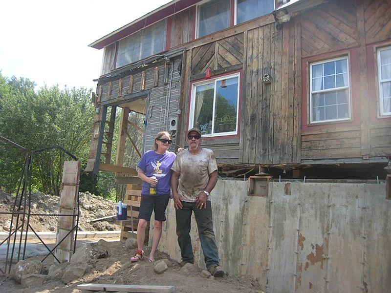 Finances have prevented Cheryl and Patrick Boucher from repairing their flood-damaged house in Groton  until now,  nearly two years after Tropical Storm Irene. The couple is doing most of the work themselves.