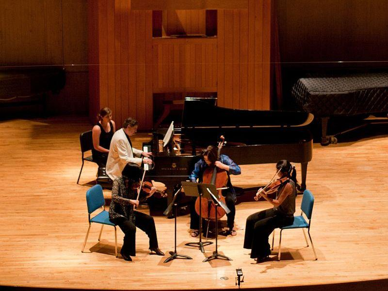 A quartet at the Green Mountain Chamber Music Festival