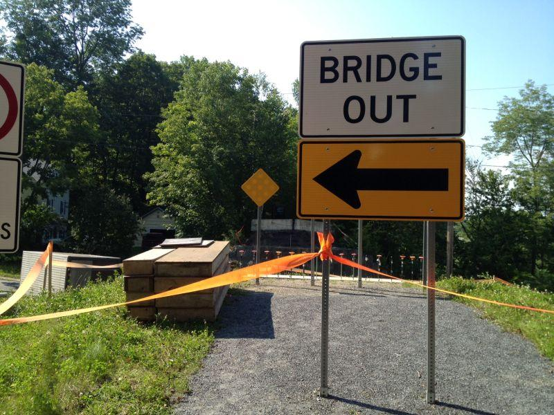 Work will begin soon on this bridge in St. Johnsbury for the Lamoille Valley Rail Trail