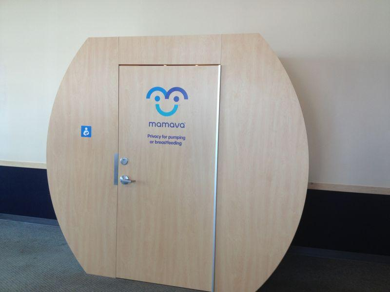The Mamava Lactation Station is now up and running at Burlington International Airport