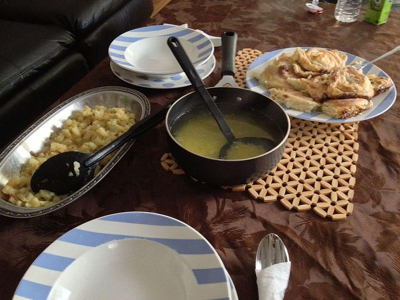 The Iftar prepared by Sanela