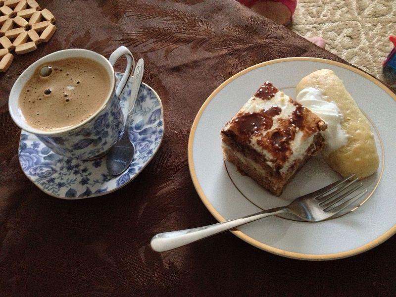 Dessert and Bosnian coffee after Iftar