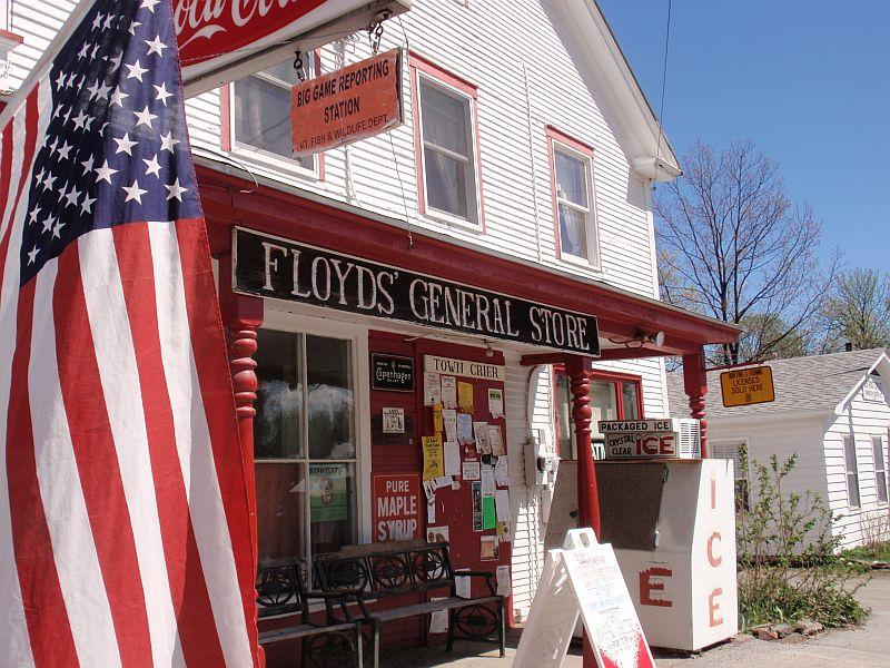 Floyd's General Store in Randolph Center