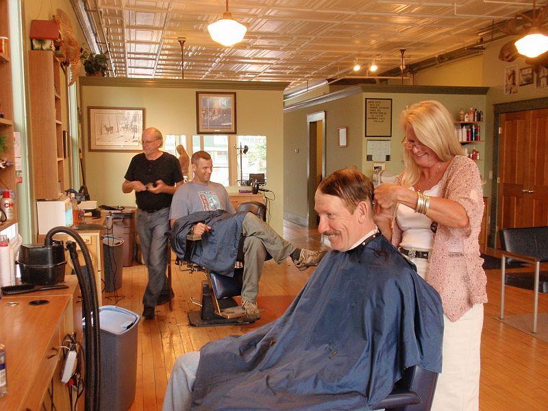 Ken's Barber Shop in Randolph Center