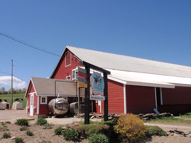 Neighborly Farms is devoted to organic cheese making.