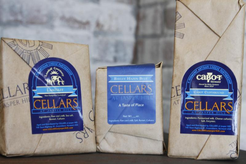 Jasper Hill markets cheese created by other artisans with dual labels