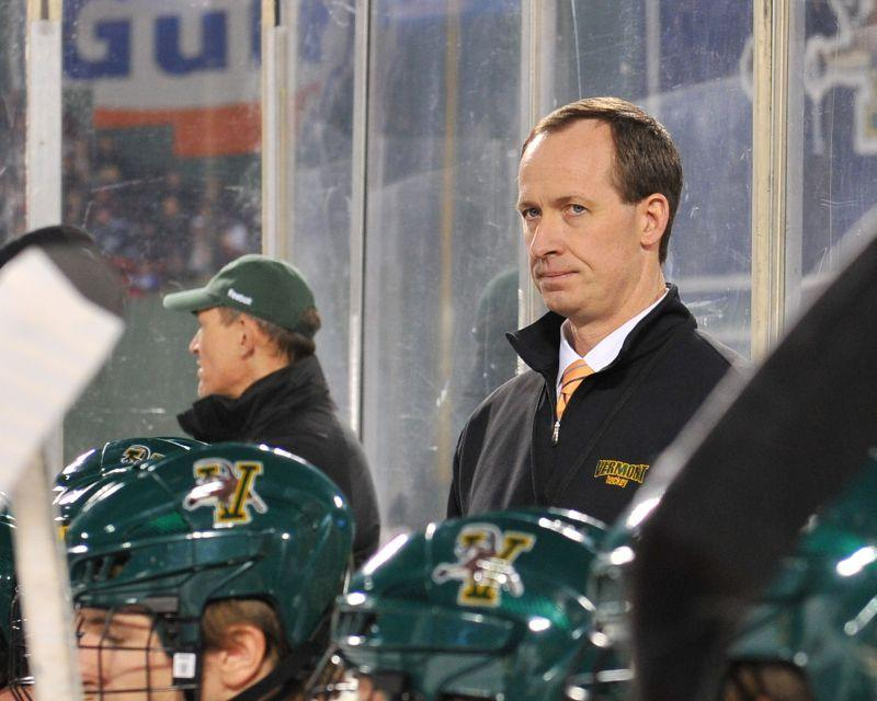 Coach Kevin Sneddon begins his 11th season with UVM.