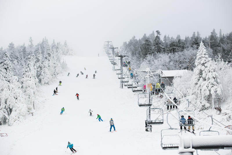 Skiers Enjoy Start of Season at Killington on Friday