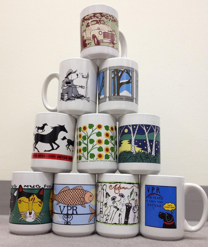 Artist mugs from 2002-2011