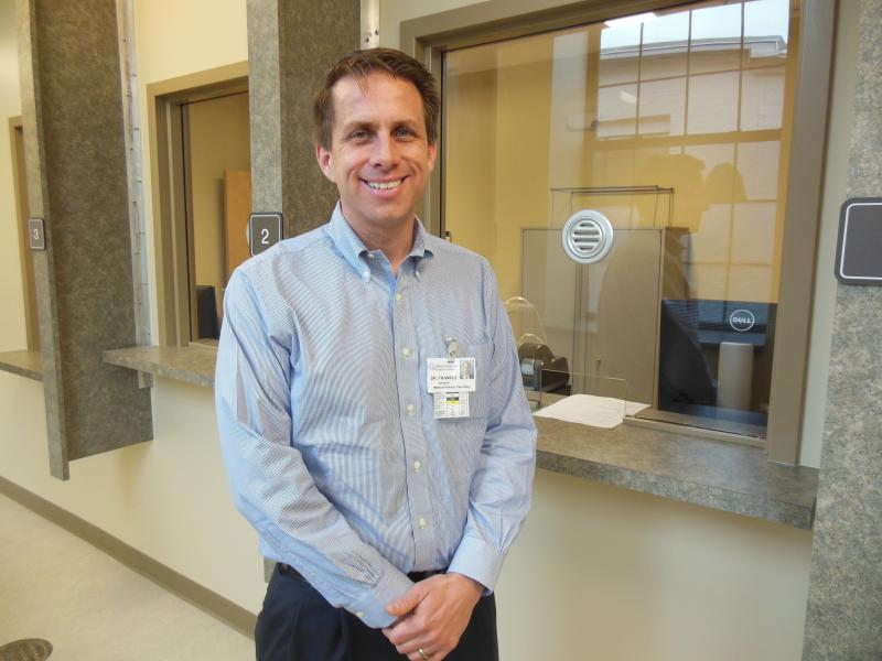Dr Gordon Frankle, Medical Director of Rutland's new West Ridge Center for Addiction Recovery