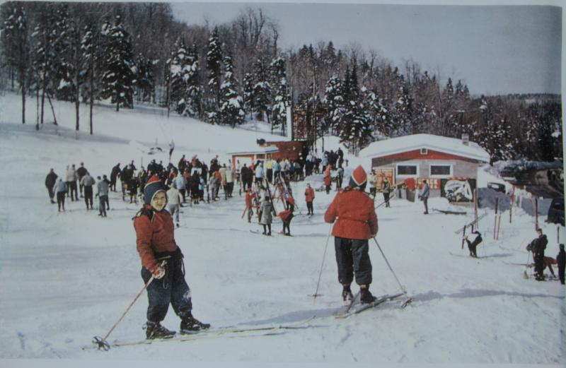 Hogback Mountain Ski Area in Marlboro, which operated from 1946 to 1986, was one of the longest operating community ski hills in Vermont. In 1969, weekend lift tickets cost six dollars.