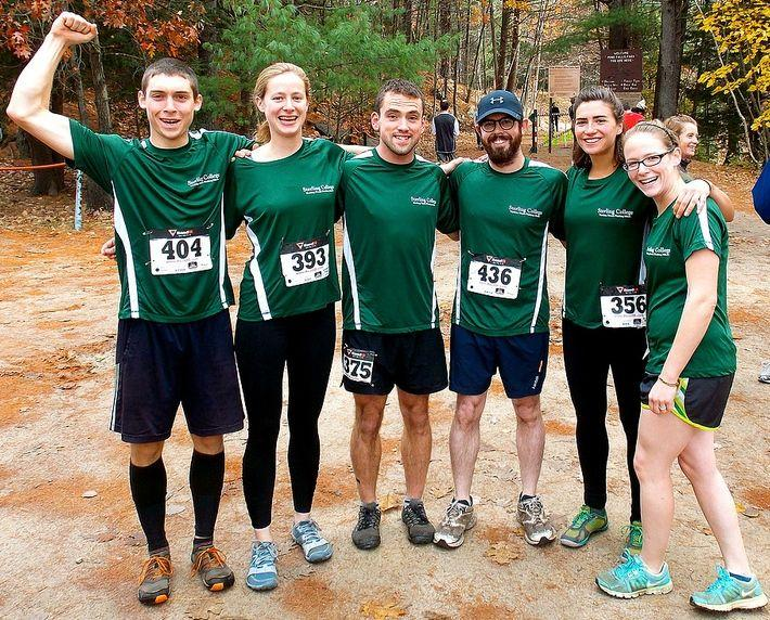 On November 2, the Sterling College Mountain & Trail Running Team had their inaugural showing at the Jack London 10K in Nashua, NH.