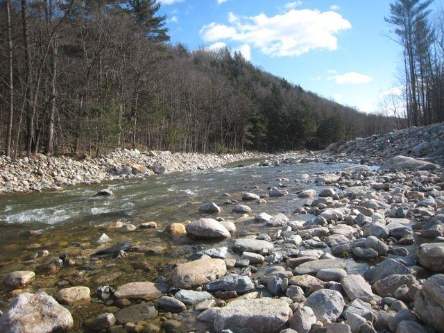 Roaring Branch of the Walloomsac River in Woodford, Vt.